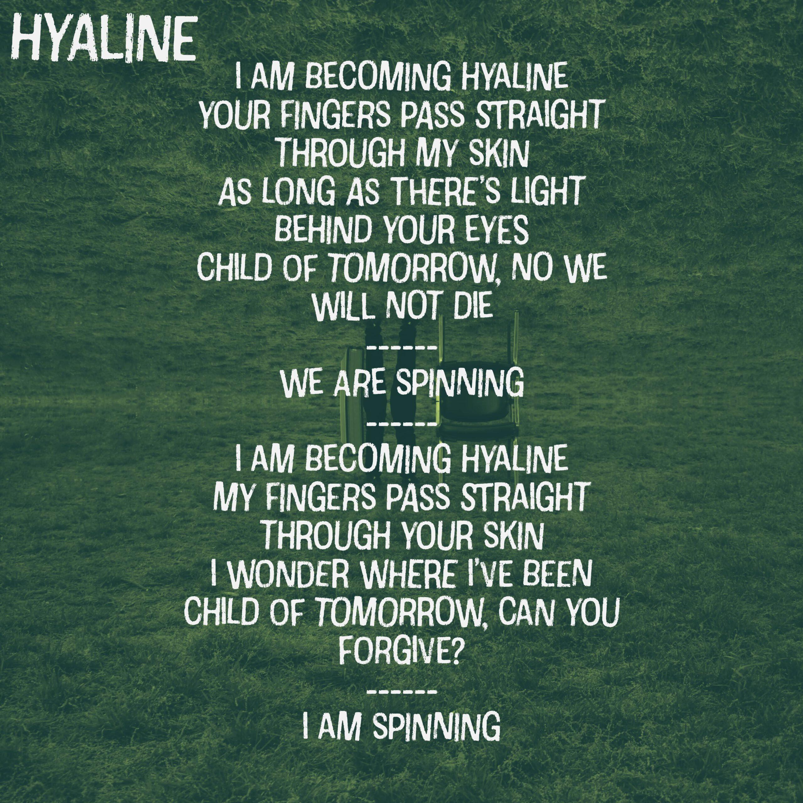 hyaline lyrics