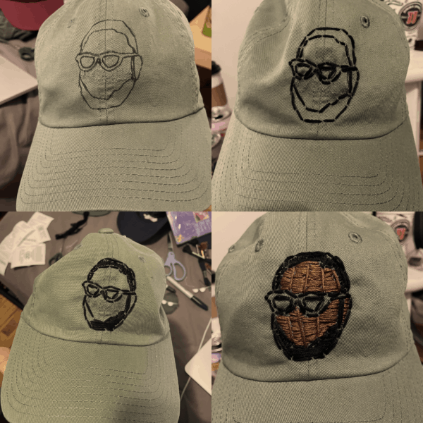 [SOLD] Remy Dad Hat - Prototype C